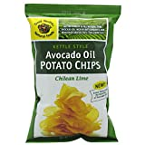 51wXnRtAHwL. SL160  Good Health Avocado Oil Potato Chips, Chilean Lime, 1.25 Ounce (Pack of 24)