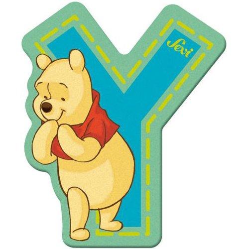 Sevi 82783 Klebebuchstabe Y Winnie the Pooh