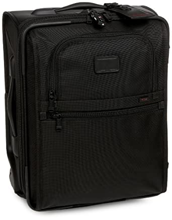 Tumi Alpha International Compact Carry On 022018DH,Black,one size