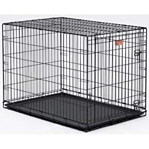 Mid-West Metal Life Stage Cage Black 30x21x24