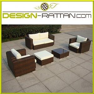 Design rattan ibiza polyrattan gartenm bel lounge - Gartenmobel design lounge ...