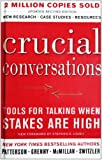 Crucial Conversations (Turtleback School & Library Binding Edition) (1417664479) by Joseph Grenny