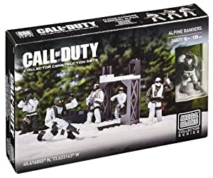 Mega Bloks Call of Duty Alpine Rangers Collector Construction Set