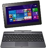 Asus Transformer Book T100TA 25.65 cm (10.1 Zoll) Convertible Tablet PC (Intel Atom Quadcore Z3740 1,3GHz, 2GB RAM, 32GB+500 HDD, Intel HD, Windows 8 Touchscreen) grau