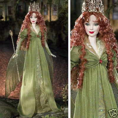 Hot Barbie Collector Legends Of Ireland - The Faerie Queen Doll