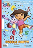 Puzzle Party! (Dora the Explorer) (Giant Coloring Book)