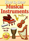 How to Draw Musical Instruments (how to draw comics and cartoon characters)