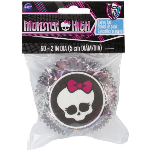 Wilton 415-6677 Monster High Baking Cups