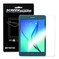 Fintie Samsung Galaxy Tab A 8.0 Ultra-Clear HD Screen Protector (3 Pack With Retail Packaging) - High Definition Invisible Protective Screen Film [Lifetime Replacement Warranty] from Fintie