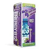 Zipfizz Healthy Energy Drink Mix, Grape, 20 Count