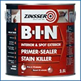 ZIN Primer - Sealer B.I.N 2.5 Litre ZINBIN25L