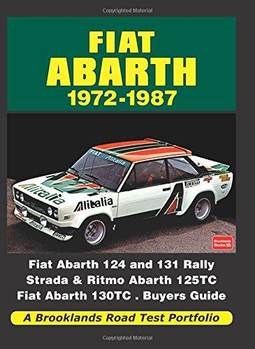 Fiat Abarth 1972-1987 (Road Test Portfolio)
