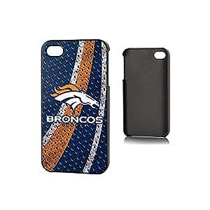 NFL Denver Broncos iPhone 4/4S Polymer Snap Case, Blue/Orange