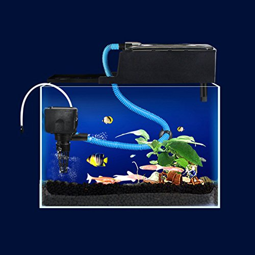 3 In 1 Multifunction Fish Aquarium Filter Filtration Oxygenation Air Water Pump (Battery Powered Aquarium Filter compare prices)