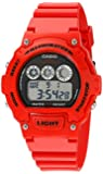 Casio Unisex W-214HC-4AVCF Classic Red Watch