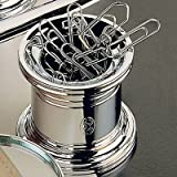 El Casco Paper Clip Holder Silver