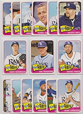 Tampa Bay Rays / 2014 Topps Heritage Baseball Team Set
