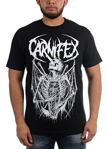 Carnifex - Top - Uomo Black X-Large