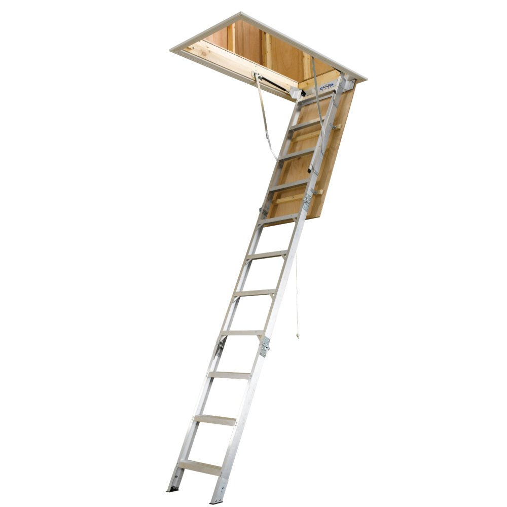Top 10 Best Pull Down Attic Ladders   List And Reviews 2016 2017 On  Flipboard