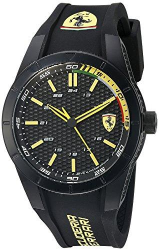 Ferrari De los hombres RED REV EVO Analógico Casual Cuarzo Reloj 0830302