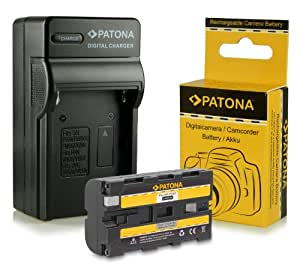 Chargeur + Batterie NP-F550 pour Sony BC-V615 | DCM-M1 | DCR-TRU47E | MVC-CD1000 | PLM-100 | VCL-ES06A | CCD-TR (Hi8) Serie | CCD-TR1 | CCD-TR200 | CCD-TR215 | CCD-TR3 | CCD-TR300 | CCD-TR3000 | CCD-TR3300 | CCD-TR416 | CCD-TR500 | CCD-TR516 | CCD-TR517 | CCD-TR57 | CCD-TR555 | CCD-TR67 et bien plus encore...