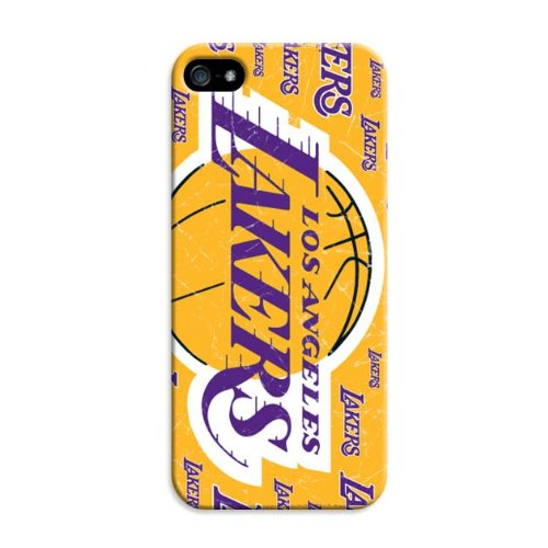 Custom Nba Los Angeles Lakers Team Logo Iphone 5C Case By Lfy