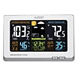 La Crosse Technology 308-1414W Wireless Atomic Digital Color Forecast Station With Alerts White