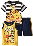 Disney Baby-Boys Infant 3 Piece Winnie The Pooh and Tigger Jersey Top Set