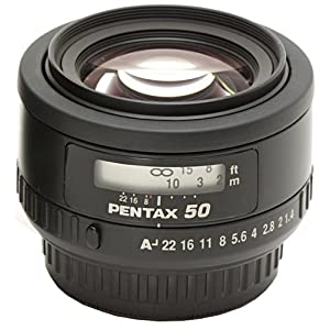 Pentax SMCP-FA 50mm f/1.4 Lens