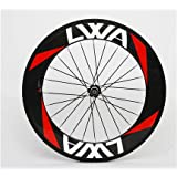 LVWA full 3K carbon fiber bike Road bicycle 700C Tubular rear wheel WHR88T1L by lvwasports