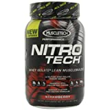 MuscleTech Nitro-Tech Performance Series, Strawberry, 2 lbs