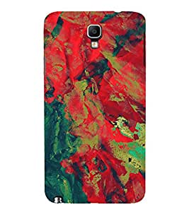 EPICCASE red waves Mobile Back Case Cover For Samsung Galaxy Note 3 Neo (Designer Case)