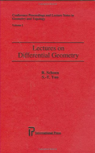 Lectures on Differential Geometry (Conference Proceedings and Lecture Notes in Geometry and Topology)