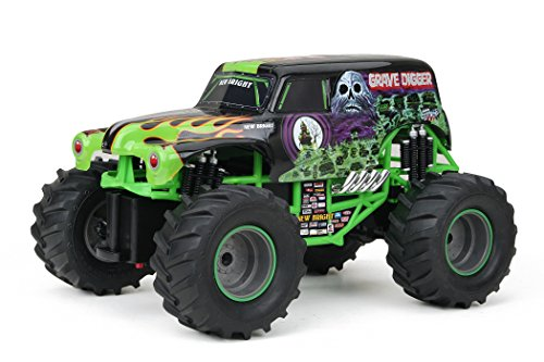 New Bright F/F Monster Jam Grave Digger RC Car (1:15 Scale) (Monster Trucks Rc compare prices)