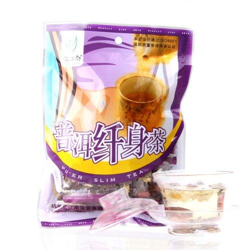 100G Pu'Er Slim Tea 10Gx10 Bags Chinese Natural Organic Flora Herbal Tea