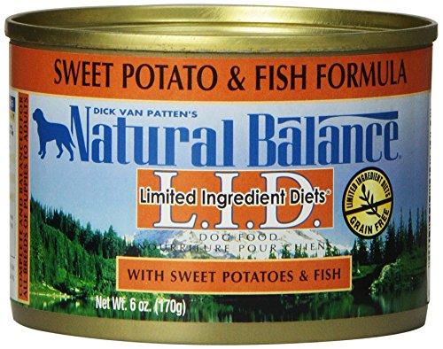 Natural balance fish sweet potato formula dog food pack for Natural balance sweet potato and fish