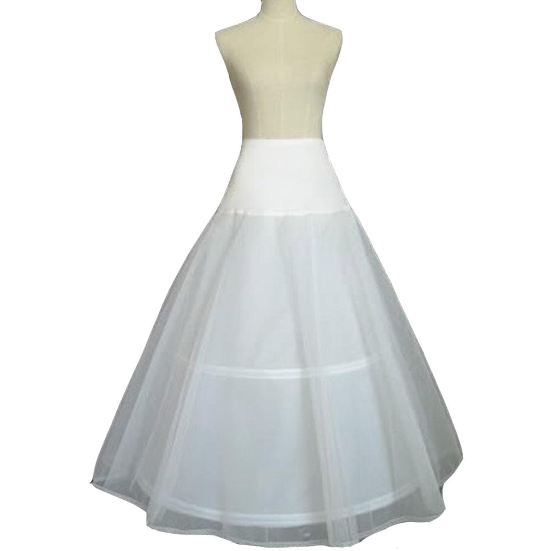 Fashion Plaza Tüll&Leica Reifrock A-linie Hochzeit Braut Petticoat A0031