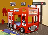 FIRE TRUCK Doppelbett thumbnail
