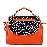 Borsavela Women's Sling Bag Orange (BVSL06OR)
