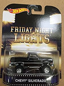 Hot Wheels Retro Friday Night Lights Chevy Silverado Die Cast