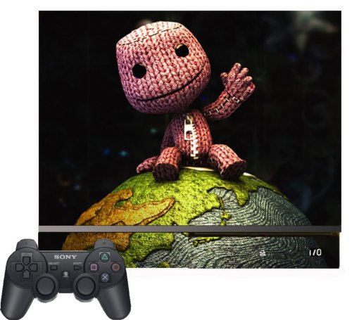Little Big Planet 2 Sackboy Sack Boy Vinyl Decal Skin