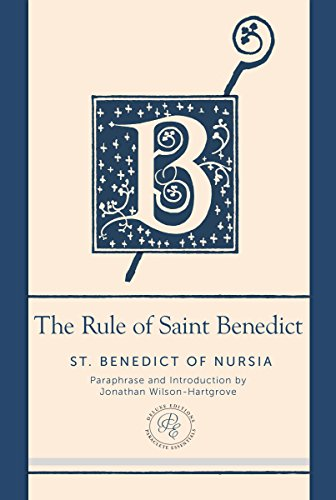 the importance of calling chapter meetings in the rule of saint benedict a book by benedict of nursi Seeking god: the way of st benedict the rule of saint benedict inestimable spiritual values of benedict's sixth-century rule the book is enhanced by the.