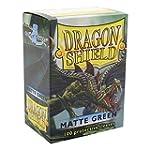 Dragon Shield Matte Green 100 Protect...