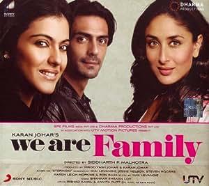 We Are Family- New Karan Johar film (Hindi Film Songs / Bollywood Movie Soundtrack / Indian Cinema Music CD)