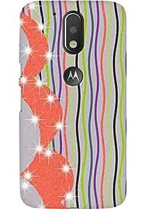 AMEZ designer printed 3d premium high quality back case cover for Moto G4 Plus (art)