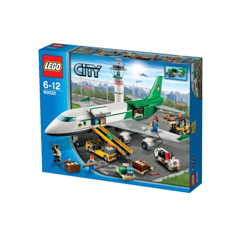 Lego City 60022 Cargo Terminal Toy Building Set front-888859