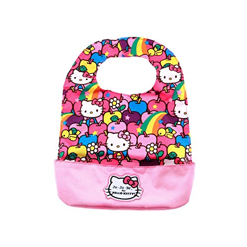 Ju-Ju-Be Hello Kitty Collection Be Neat Reversible Bib, Lucky Stars - 1