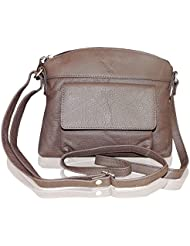 Style98 Brown Leather Women's Messenger Bag