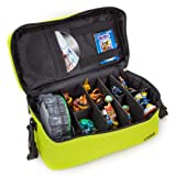 ACTION FIGURE ORGANISER STORAGE BAG skylanders (GREEN)