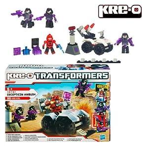 Hasbro 387811480 Transformers Kre-O Decepticon Ambush - Juego de construcción